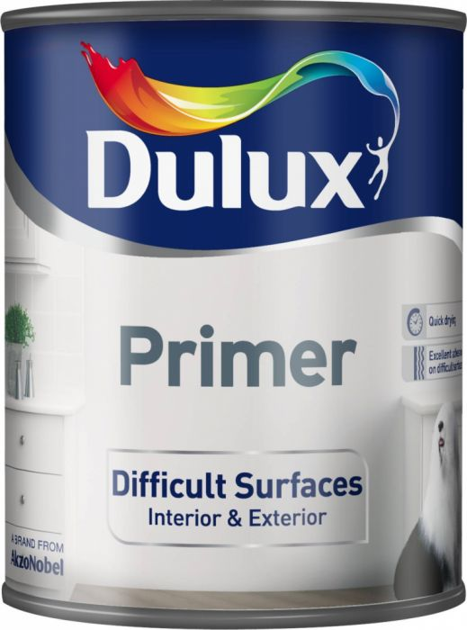 Dulux Difficult Surfaces Primer 750Ml