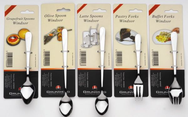 Windsor Set Of 2 Knives And Forks Stainless Steel
