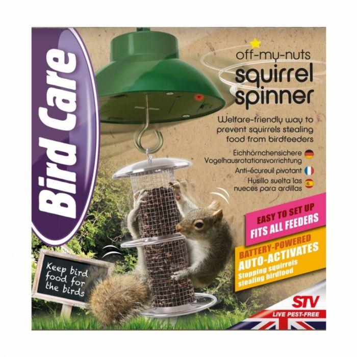 Defenders Off My Nuts Squirrel Spinner