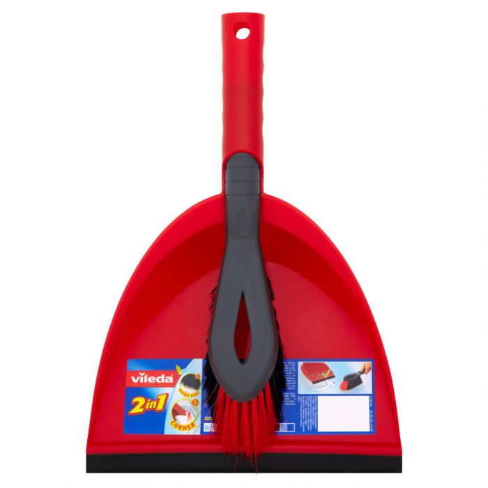 Vileda Dust Pan & Brush Set
