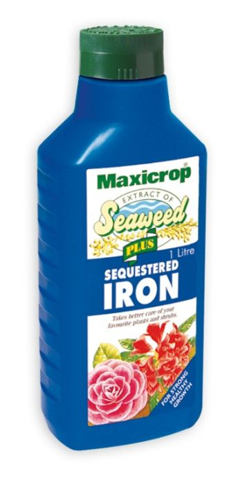 Maxicrop Plus Sequestered Iron 1L