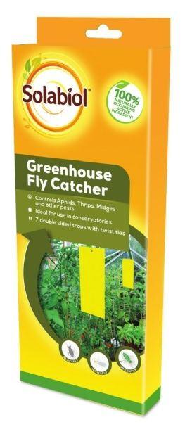 Solabiol Greenhouse Fly Catcher 7 Strips
