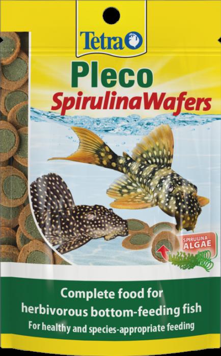Tetra Pleco Spirulina Wafers 85G
