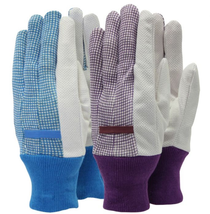 Town & Country Essentials - Gingham Gloves Ladies Size - M