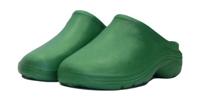 Town & Country Eva Cloggies - Green Uk Size 4 - Euro Size 37