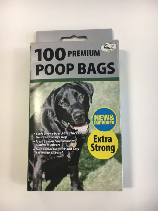 Poop Bags Box Of 100 Premium Fragranced