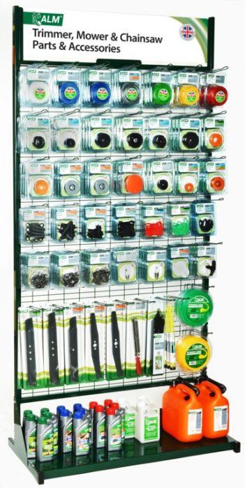 Alm Popular Parts Stand 1 Metre Wide Floor Display