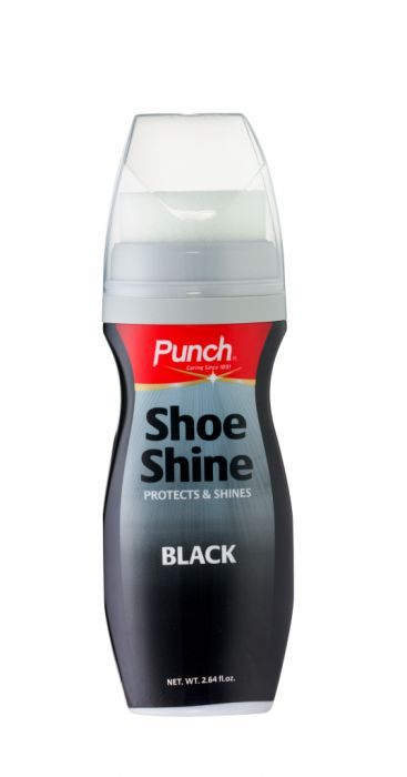 Punch Shoeshine Black 75Ml