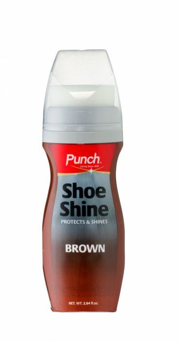 Punch Shoeshine Brown 75Ml