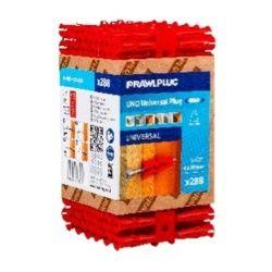 Rawlplug Universal Plug Pack 288 Red