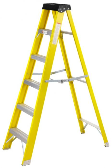 Supatool Fibreglass Stepladder 6 Tread