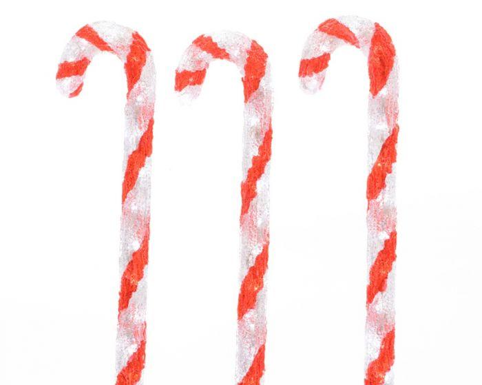 Led Candy Canes Set 3