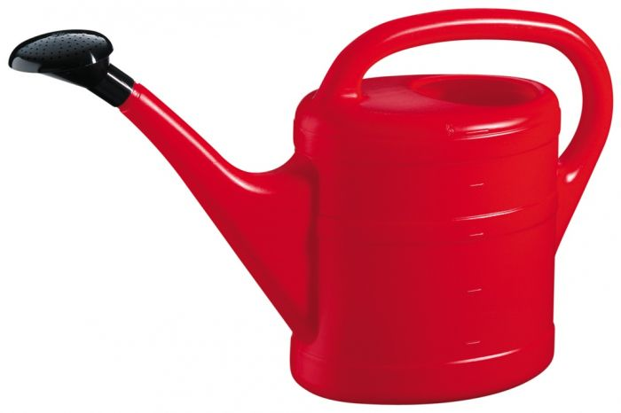 Green Wash Essential Watering Can 10L Red