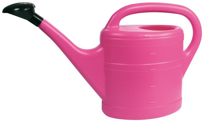 Green Wash Essential Watering Can 10L Pink