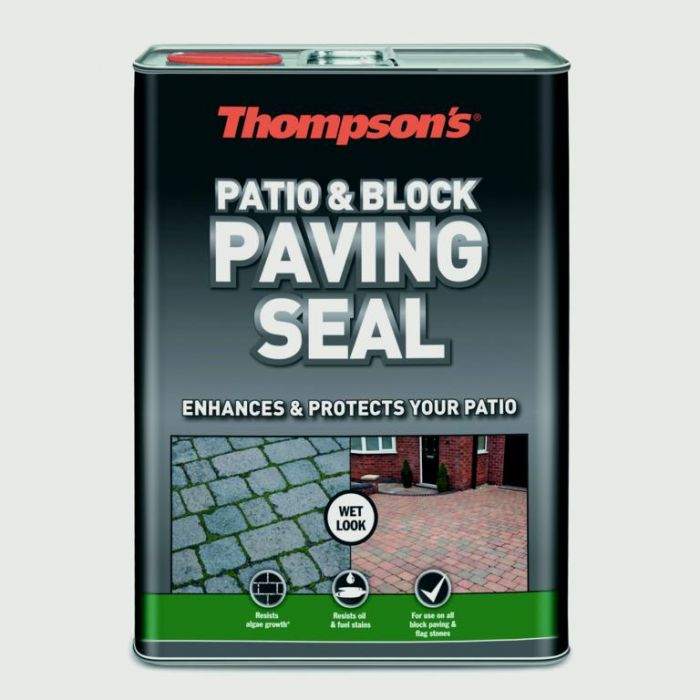 Thompson's Patio & Block Paving Seal 5L Wet Look
