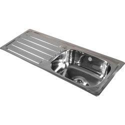Supaplumb Reversible Drainer Sink 1 Tap
