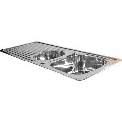 Supaplumb Reversible 1.5 Bowl Sink 1 Tap