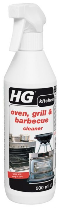 Hg Oven Grill And Barbecue Cleaner 500Ml