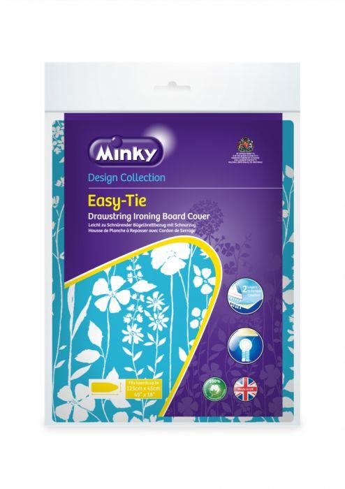 Minky Drawstring (Easytie) Ironing Board Cover 125 X 45Cm