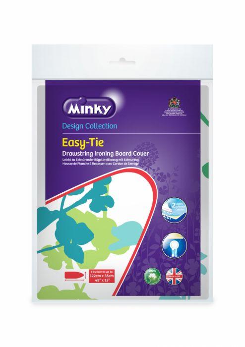 Minky Drawstring (Easytie) Ironing Board Cover 122 X 38Cm