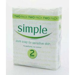Simple Soap Twin Pk 125Grm