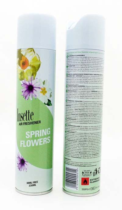 Insette 2 In 1 Air Freshener Spring Flowers