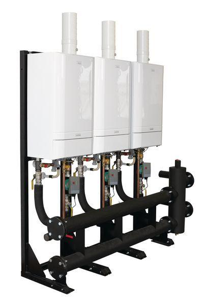 Ideal 30-100 2 Boiler Inline Header Kit