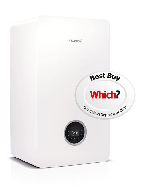Worcester Greenstar 8000 Life Ng Regular Boiler 40Kw White