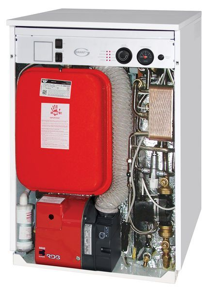 Grant Vortex Pro 36He Erp High Efficiency Outdoor Combi Oil Boiler