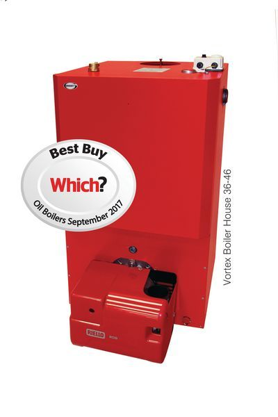 Grant Vortex Boiler House 26-35Kw Red