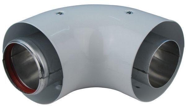 Vokera Uni-Flue 90Deg Flue Bend