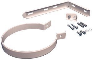 Parts Flue Support Bracket Kit 100Mm White