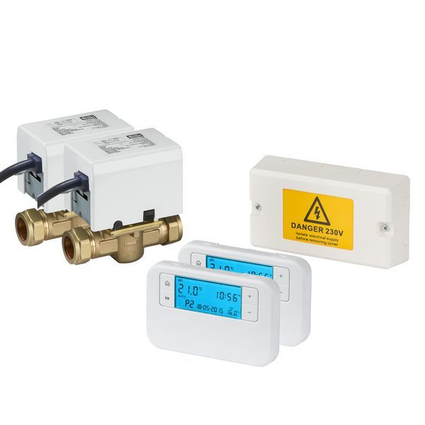 Thermaq Cpc2zp Combi Controls Thermostat Pack 2 Zone