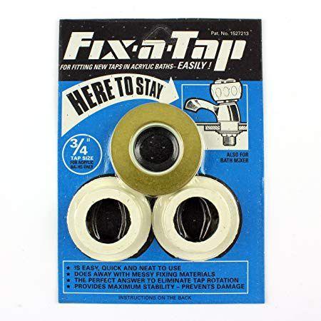 Essex Partners Fix-A-Tap Acrylic Bath Tap Repair Kit 36Mm 3/4 Blue