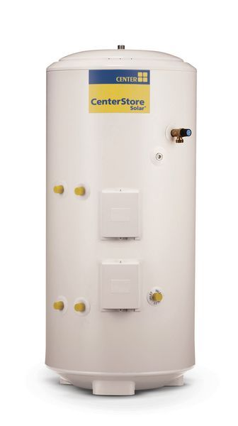Centerstore Indirect Solar Unvented Cylinder 300Ltr
