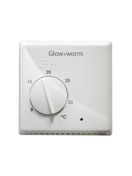 Glow-Worm Wired Twin Channel Room Thermostat