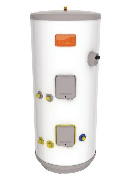 Heatrae Sadia Megaflo Eco Unvented Indirect Solar Cylinder 210Ltr