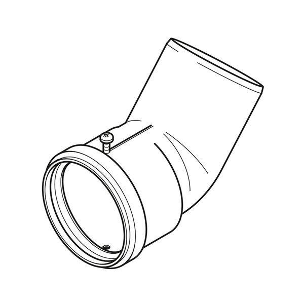Baxi Multifit Flue Detector White