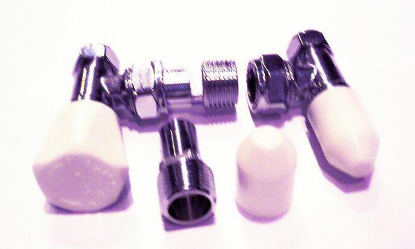 Pegler Yorkshire Bulldog Wheelhead And Lockshield Manual Valve Pack 8/10 Mm