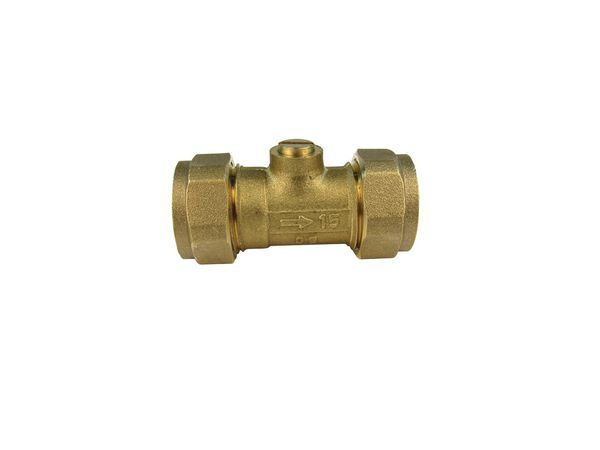 Midland Brass Brass Slotted Isolating Valve 15Mm