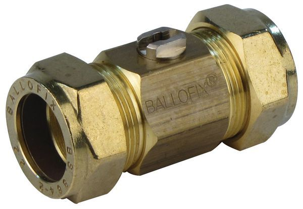 Pegler Yorkshire Ballofix 3481Ya Copper X Copper Valve 22Mm Brass
