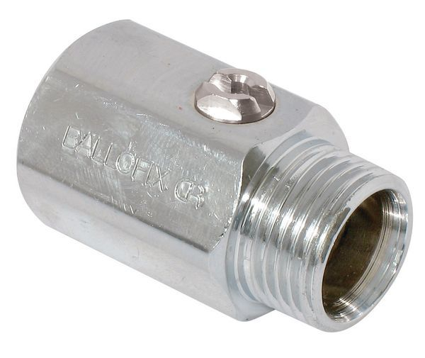 Pegler Yorkshire Ballofix 3410Ya Male X Female Valve 3/4 Chrome Plated