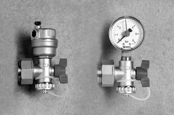Myson Pressure Gauge And Air Vent Set