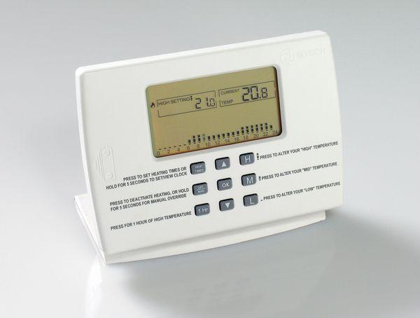 Myson Programmable Thermostat Chrome
