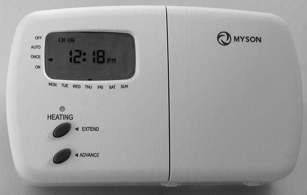 Myson Single Channel Programmer