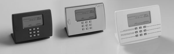 Myson Radio Frequency Programmable Thermostat Chrome