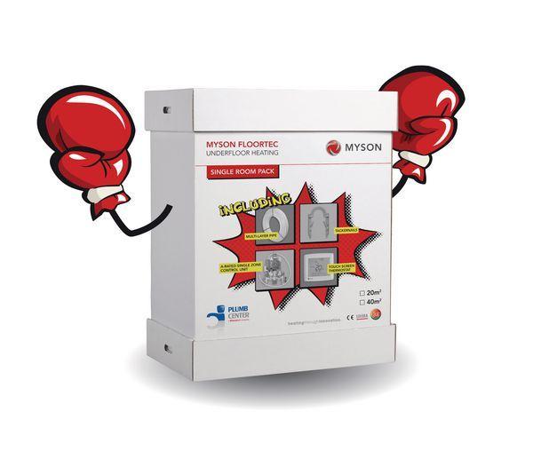 Myson Underfloor Heating Punch Pack 40Mtr2