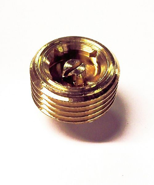 Midland Brass Radiator Air Vent Plug 1/2