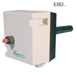 Electro Controls Ebd-8 Dual Immersion T/R Thermostat