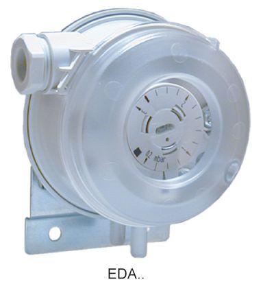 Electro Controls Eda-22 Pressure Switch Air 0.2/3Mbar